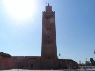 Marakeş Kutubiye Camii Minaresi