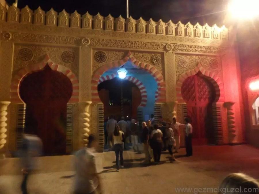 Marrakech Gece Hayatı Chez Ali Tesisi