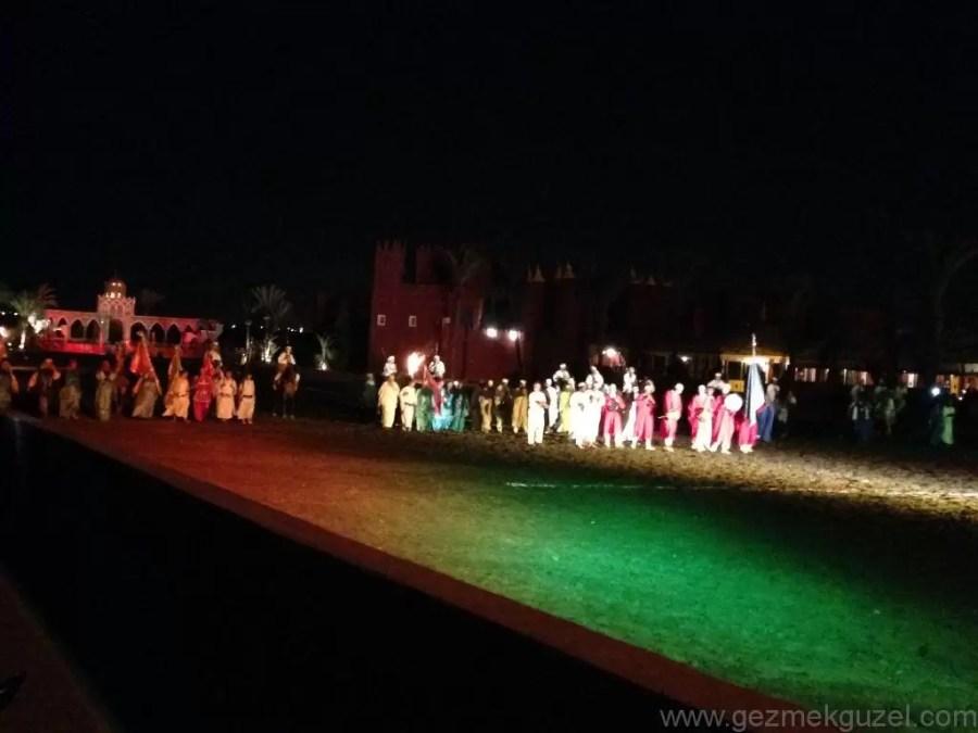 Marrakesh Gece Hayatı Chez Ali