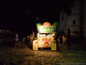 Parati'de Seyyar Bar, Parati Gezisi, Brezilya Gezisi Notları