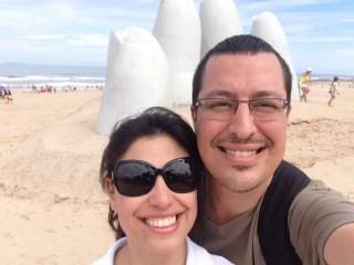 Punta del Este'nin sembolü heykel