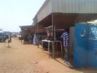 Sudan Khartum'da çarşı