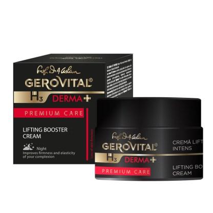 Gerovital Derma+ Lifting Booster Nacht Crème intens 50 ml