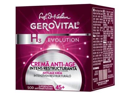Gerovital Evolution Anti-Aging Nacht Crème Intense Restructuring