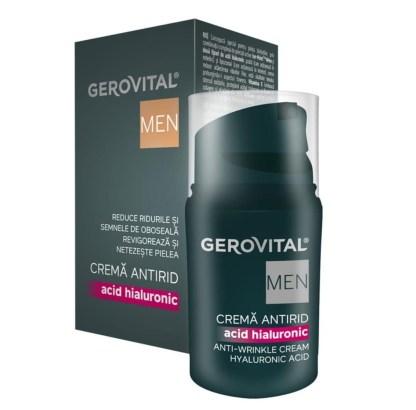 Gerovital Anti-Rimpel Crème Hyaluronzuur Men 30 ml
