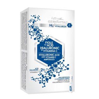 Ampullen met Hyaluronzuur 2% en Vitamine C