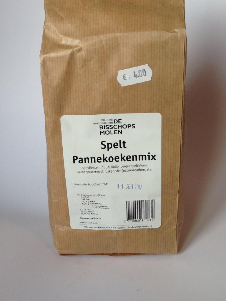 spelt pannenkoek mix