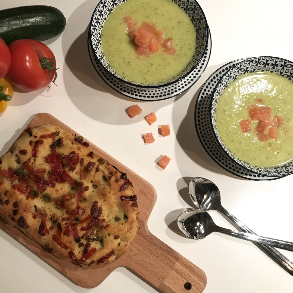 Prei-Courgette Mosterdsoep