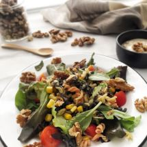 Linzenpasta salade