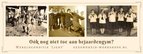 55+, 65+, 75+, actieve ouderen, vitale senioren, Wereldconditie 'Light', dansen, bewegen, Chi Kung, acupressuur, gezondheid-workshops.nl, jeanine Theunissen