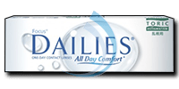 Focus DAILIES Toric All Day Comfort
