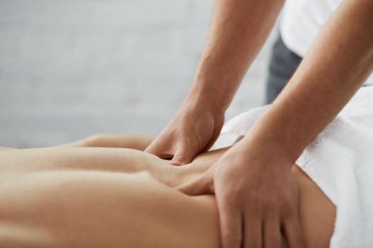 onderrug massage