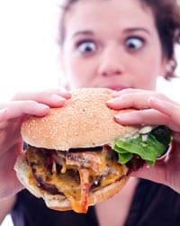 Afbeeldingsresultaat voor vet eten en huid