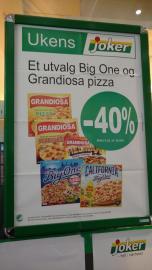 Grandiosa - DIE Tiefkühlpizza in Norwegen