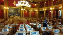 Im Parlament von Norwegen