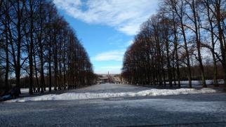 Unterwegs im Vigelandsanlegget Park