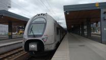 Regionalzug nach Stockholm