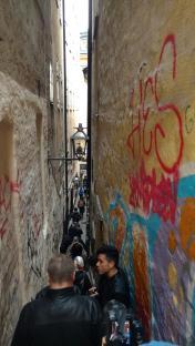 Enge Gassen in der Altstadt