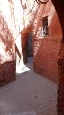 Verwinkelte Gassen - die Medina