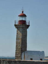 Leuchturm an der Mündung Douro in den Atlantik