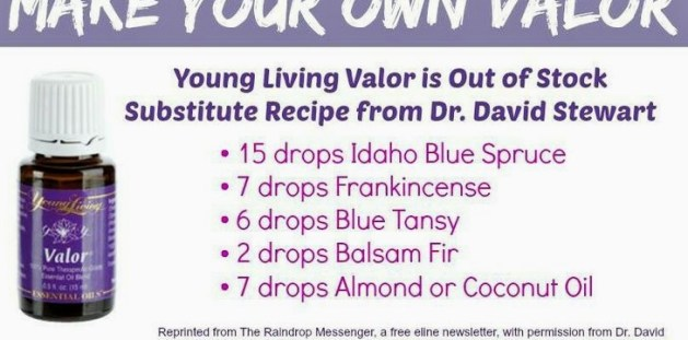 Make your own valor recipe