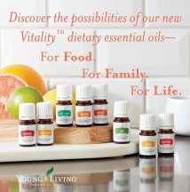 Vitality Dietary Essential Oils