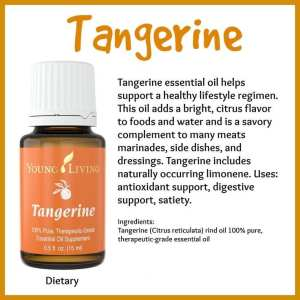 Tangerine essential oil, 15 ml