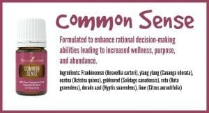 Young Living Common Sense blend