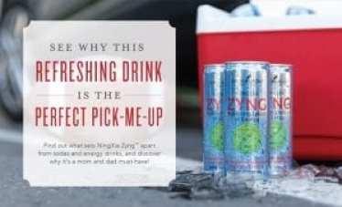Zyng-refreshing drink