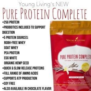protein complete Vanilla Spice
