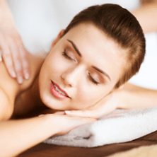 Massage improves circulation and aids in MORE than just feeling good!