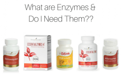 Glutren Free Enzyme supplements from Young Living