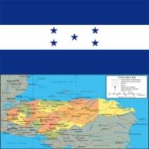 Flag_honduras-map