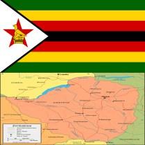 mapandFlag _of_Zimbabwe