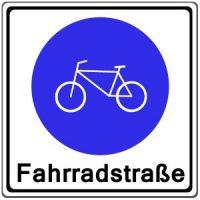 Ärger mit der Fahrrad-Straße