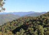Looking north towards Brasstown Bald from the Richard Russell Scenic Hwy