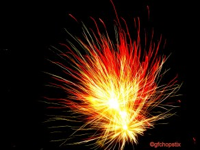 Fireworks - to welcome the year of the Sheep/Goat!