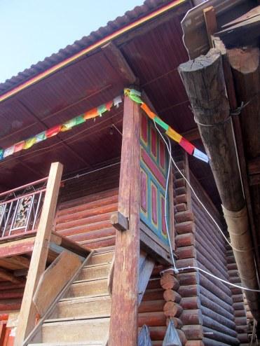 Mongolian-style house