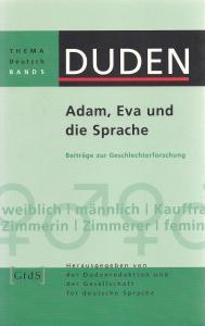 Cover: Adam, Eva und die Sprache