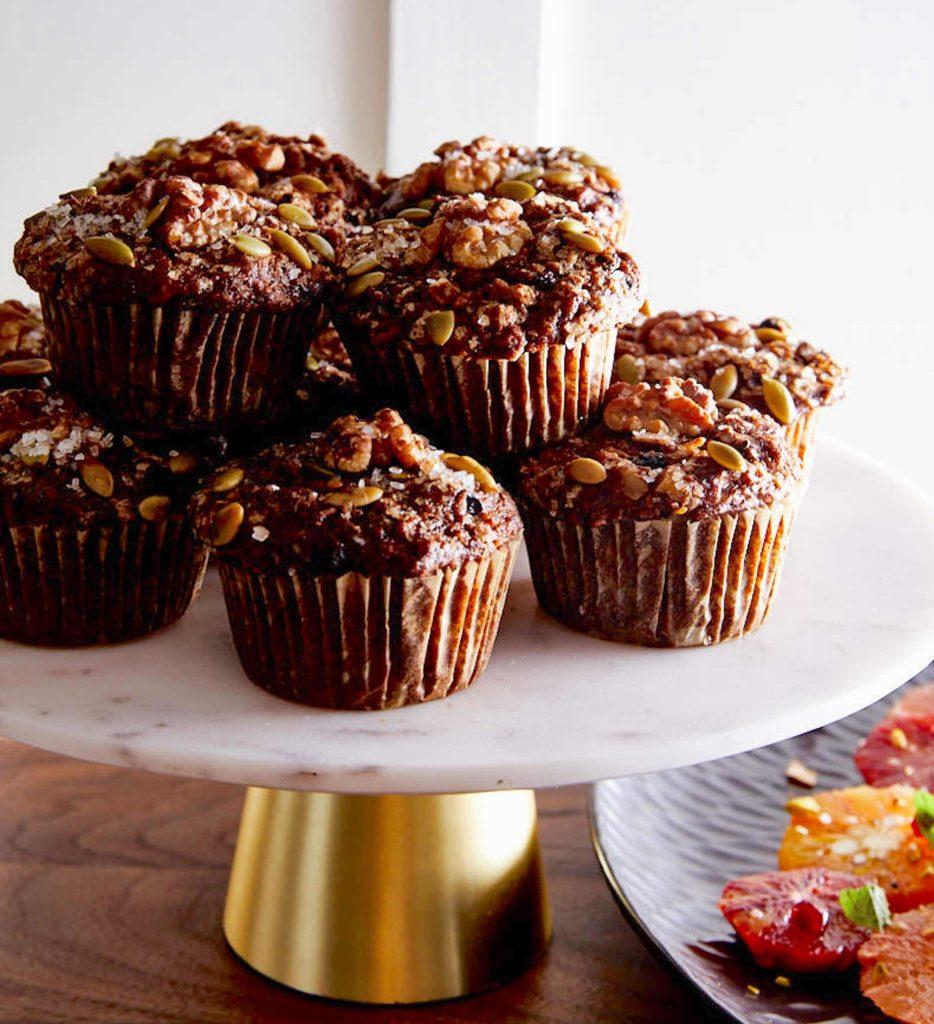 Gluten-Free Everything Muffins