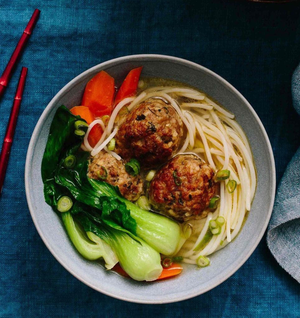 Lion's Head Meatball Soup Gluten-Free Recipe