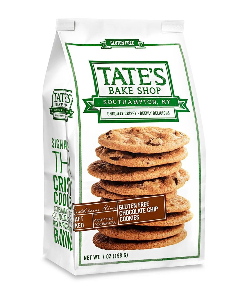 Product Review: Tate's Bake Shop Gluten Free Chocolate Chip Cookies