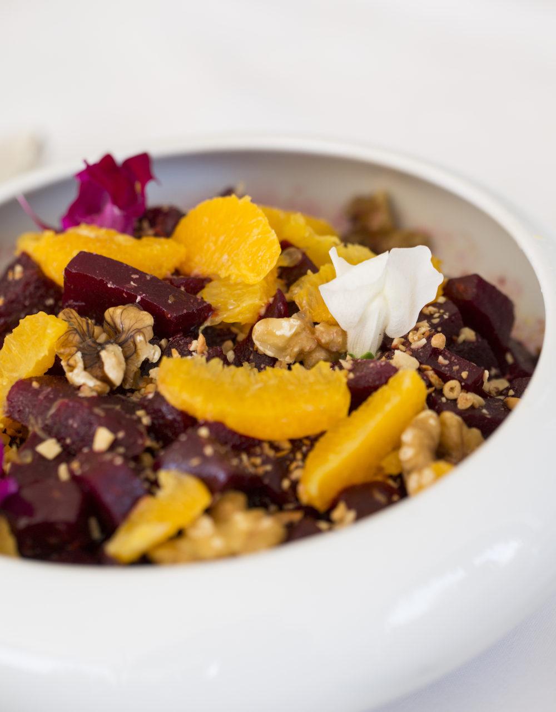 Beet Salad with Shallot-Balsamic Dressing