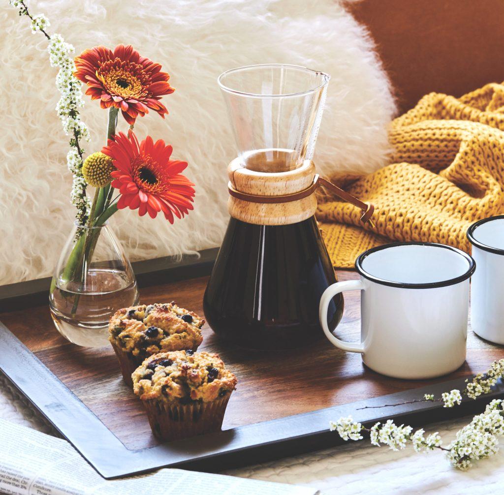 Grain-Free Lemon-Blueberry-Thyme Muffins Gluten-Free Recipe