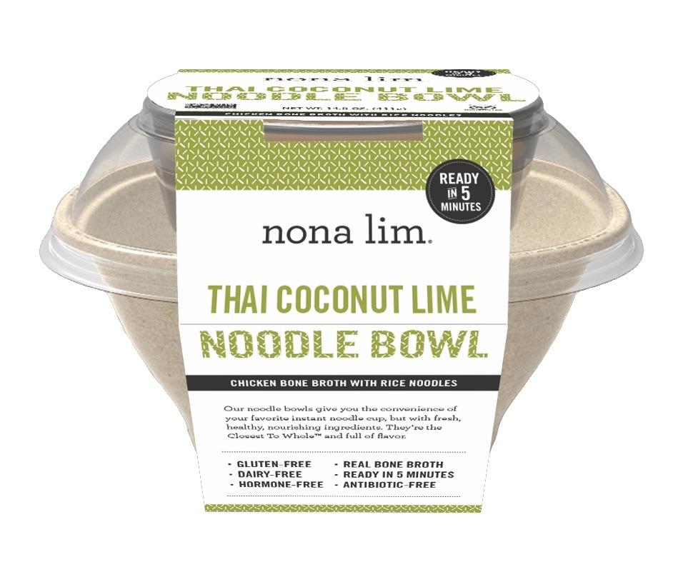 Product Review: Nona Lim's Thai Coconut Lime Noodle Bowl