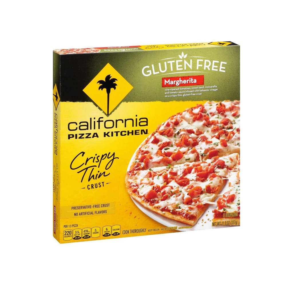 Product Review: California Pizza Kitchen Gluten Free Margherita Pizza
