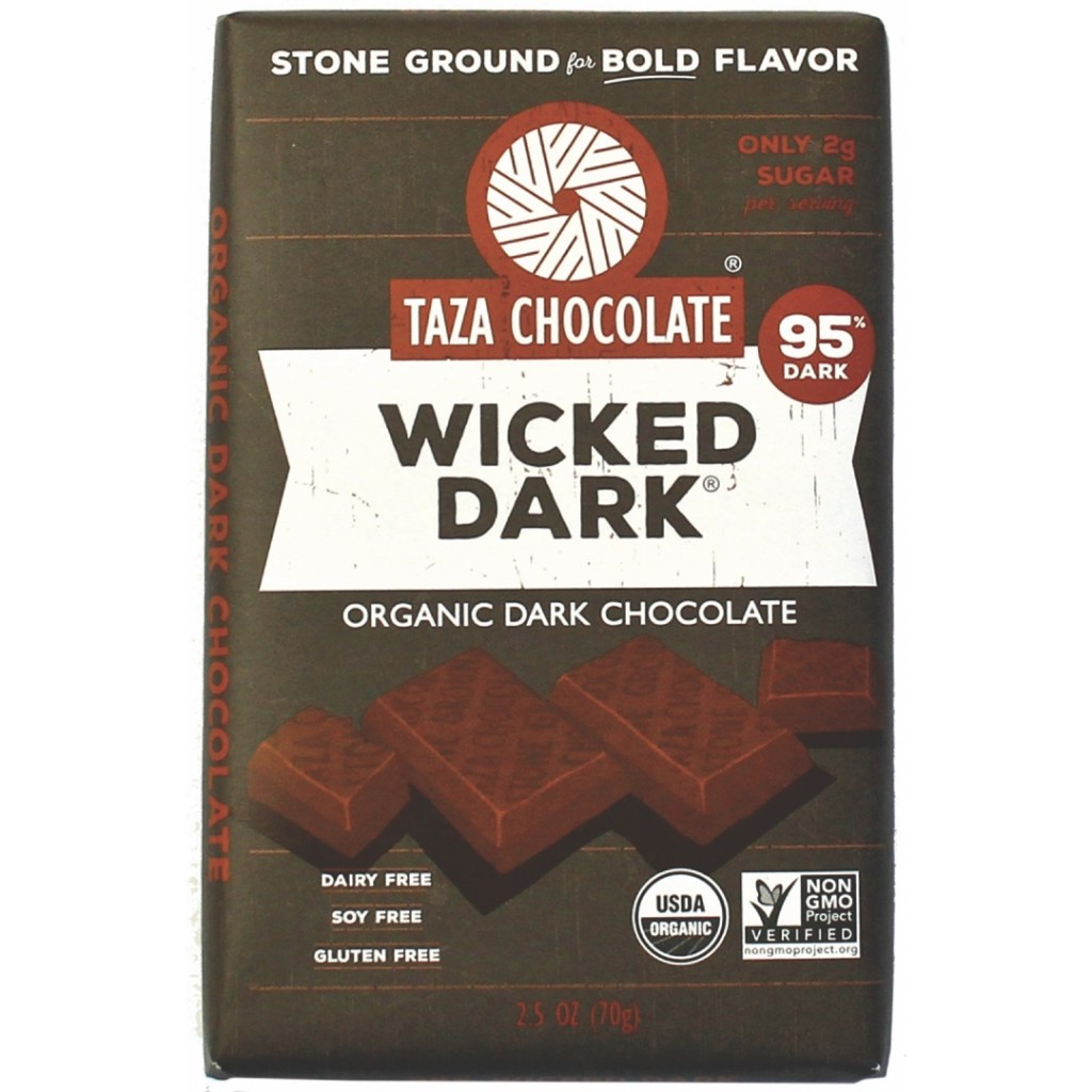 Product Review: Taza Wicked Dark Chocolate