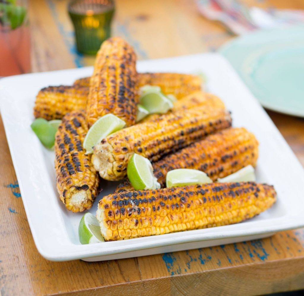 Indian-Style Grilled Corn Recipe