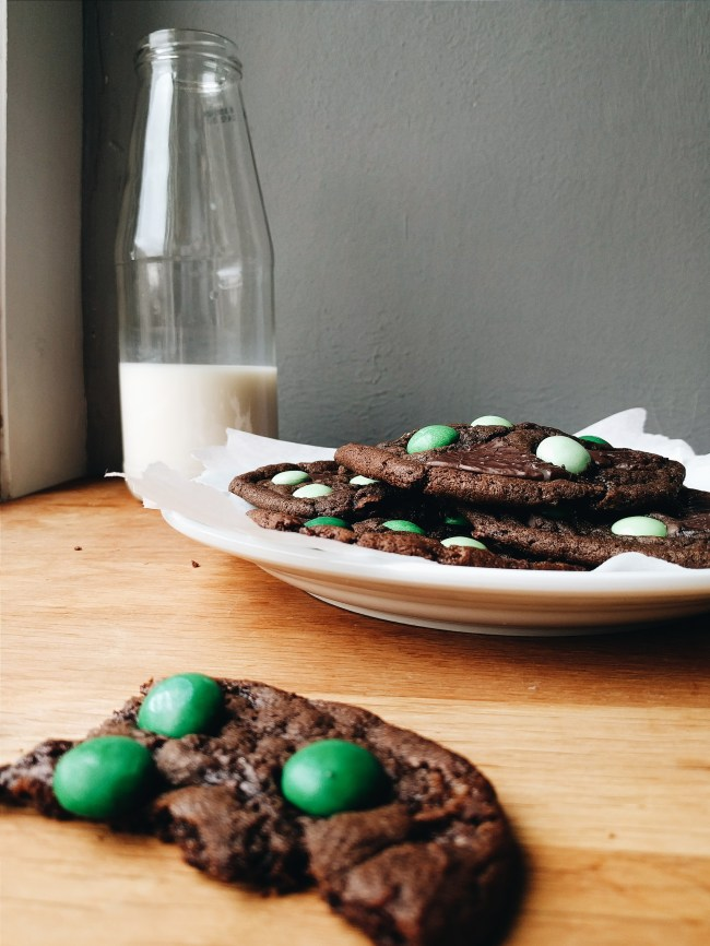 Mint Choc Chip Cookie Recipe