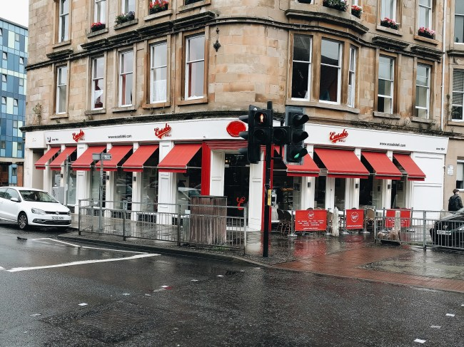 Eusebis Deli Glasgow Scotland Review